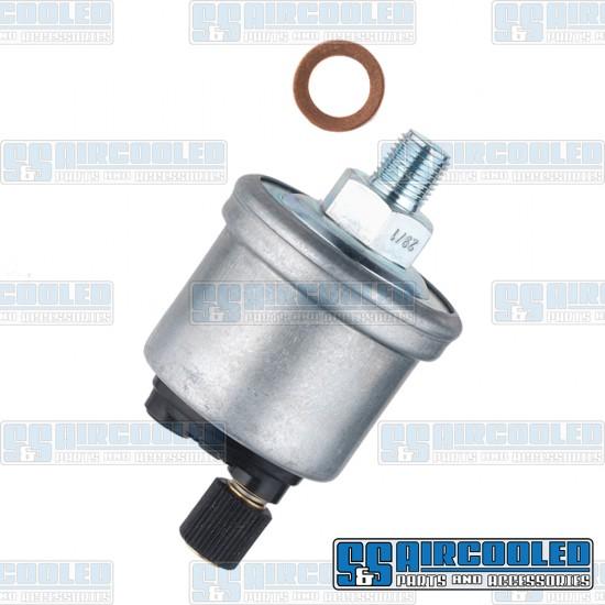 VDO Oil Pressure Sending Unit, 0-80psi, 1/8-27 NPT, w/o Warning Light Option