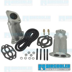 Intake Manifold Kit, 40-44mm Kadron, Dual Port, Straight
