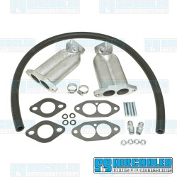 Intake Manifold Kit, 34mm ICT/FRD/EPC, Dual Port, Straight