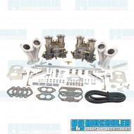 Carburetor Kit, 40mm IDF, Dual, Hexbar Style Linkage