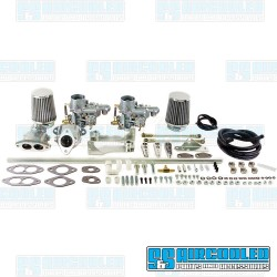 Carburetor Kit, 34mm EPC, Dual, Hexbar Style Linkage w/Air Cleaners