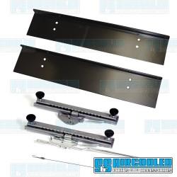 Seat Slider, Slider & Mounting Plate, Universal, Race Trim