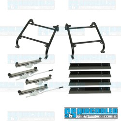 Seat Mount Kit, 6in. Tall, Slider & Slider, Universal, Race Trim