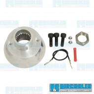 Steering Wheel Adapter, Aluminum