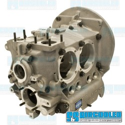 Engine Case, 90.5/92mm Bore, 8mm Studs, Bubble Top, Sand Seal, Aluminum
