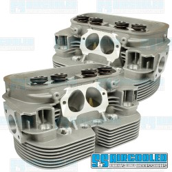Cylinder Heads, 44x37.5mm, 90.5/92mm, Dual Springs, D7000 CNC Ported