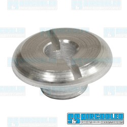 Escutcheon, 10mm, Switch to Dash, Aluminum