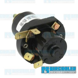 Headlight Switch, 5-Terminal, Push/Pull, 10mm Escutcheon