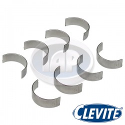 Rod Bearings, .50mm/.020 Undersized, Chevy Journal, Clevite