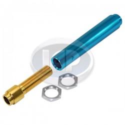 Pushrod Tube, Adjustable, Aluminum, 13-1600cc