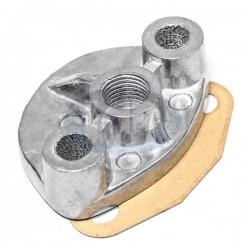 Fuel Pump Block Off, Aluminum