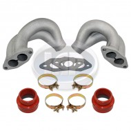 Dual Port End Castings, Includes  Boots & Gaskets