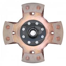 Clutch Disc, 200mm, 4-Puck