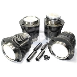 Piston & Cylinder Set, 77 x 64mm, Cast, 36hp