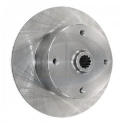 Brake Rotor, Rear, 4x130mm, Short Spline