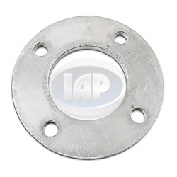 Spacer, 4x130mm, 3/8in Thick, 14mm Holes, Aluminum