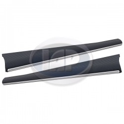 Running Boards, Heavy Duty, High Quality, w/18mm Molding