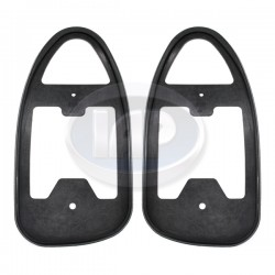 Tail Light Seals, Housing to Fender, Left & Right