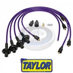 Spark Plug Wires, 8mm Spiral Core, Purple, Silicone