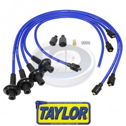 Spark Plug Wires, 8mm Spiral Core, Blue, Silicone