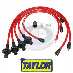 Spark Plug Wires, 10.4mm Spiro-Pro, Red, Silicone