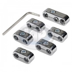 Wire Separators, Spark Plug Wires, Chrome