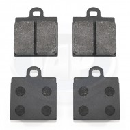 Brake Pads, Front, Left and Right, 1 Pin