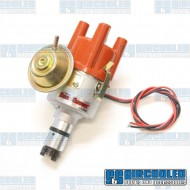 Distributor, 043 Style, Vacuum Advance w/Ignitor II Electronic Points