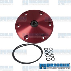Sump Plate, Mag-Plate, 6-Bolt, Red