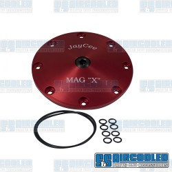 Sump Plate, Mag X-Plate, 8-Bolt, Red