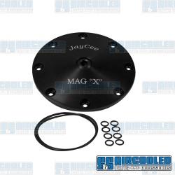 Sump Plate, Mag X-Plate, 8-Bolt, Black