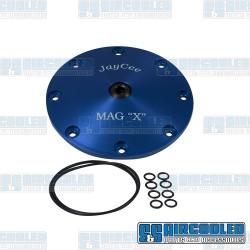 Sump Plate, Mag X-Plate, 8-Bolt, Blue