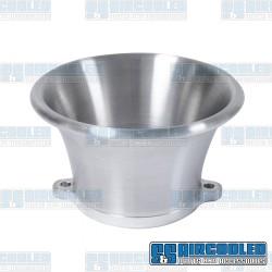 Velocity Stack, Shorty, IDA, Billet Aluminum, Silver