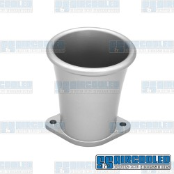 Velocity Stack, IDF/DRLA/HPMX, Billet Aluminum, Silver