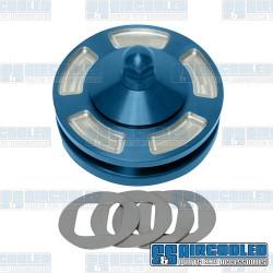 Alternator/Generator Pulley, Billet, Blue