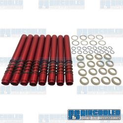 Pushrod Tubes, Leak-Proof, Red
