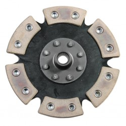 Clutch Disc, 200mm, 6-Puck