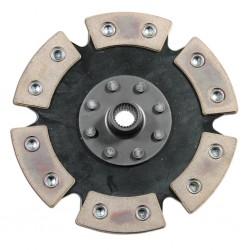 Clutch Disc, 200mm, 6-Puck