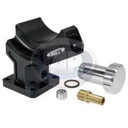 Stand, Alternator or Generator, Billet Aluminum, Black