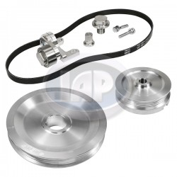 Serpentine Pulley Kit, The Original, Silver