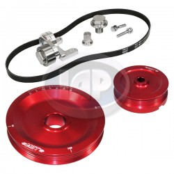 Serpentine Pulley Kit, The Original, Red