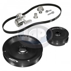 Serpentine Pulley Kit, The Original, Black