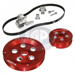 Serpentine Pulley Kit, Matador, Red