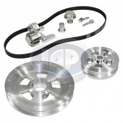 Serpentine Pulley Kit, Renegade, Silver