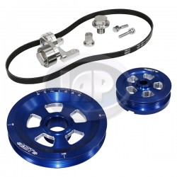Serpentine Pulley Kit, Renegade, Blue