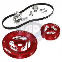 Serpentine Pulley Kit, Excalibur, Red