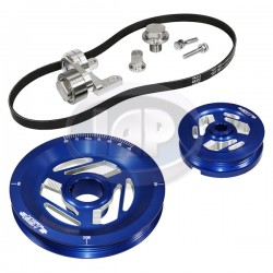 Serpentine Pulley Kit, Excalibur, Blue