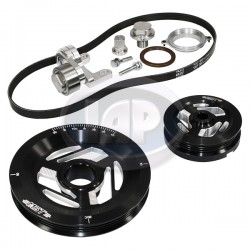 Serpentine Pulley Kit, Excalibur, Sand Seal, Black