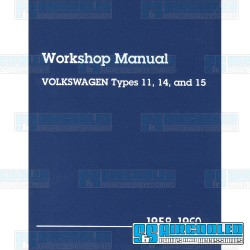 Repair Manual, Bug & Karmann Ghia 1958-1960, Bentley Publishing