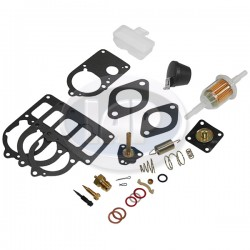 Carburetor Rebuild Kit, 28/30/34 PICT 3, With Float & Needle Valve, Universal